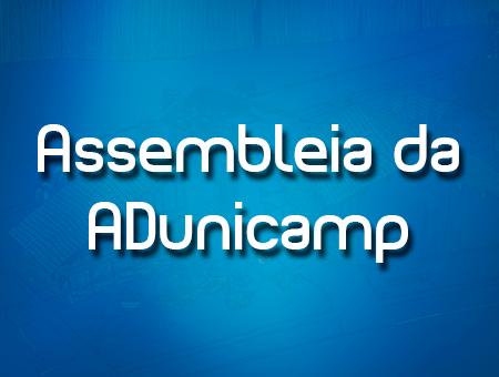 assembleia home — 26/05: Assembleia de Docentes na ADunicamp — ADunicamp