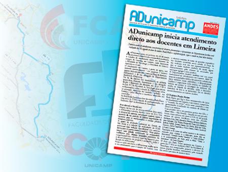 boletim limeira home — ADunicamp inicia atendimento direto aos docentes em Limeira — ADunicamp
