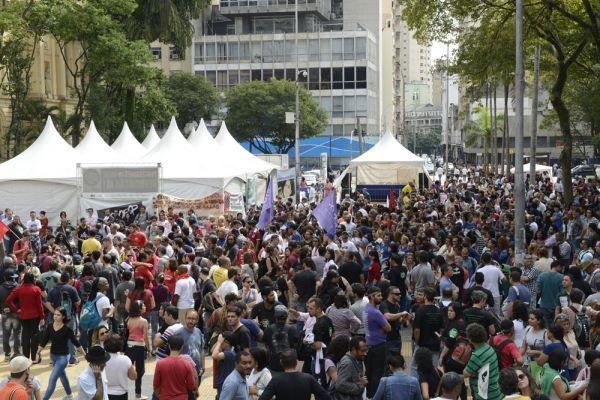 ato SP 23042015 — Todo apoio à greve dos professores estaduais paulistas — ADunicamp