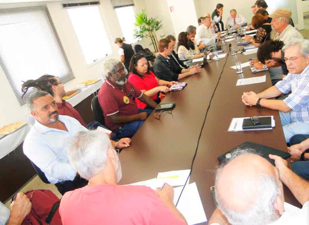 foto forum cruesp — Negociação salarial fica para segunda reunião, em 14/5 — ADunicamp