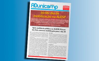 boletim adu 24062015 home — Após audiência pública na Alesp, Fórum das Seis convoca mobilização para o dia 30 — ADunicamp