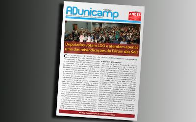 boletim adu 01072015 home — Deputados votam LDO e atendem apenas uma das reivindicações do Fórum das Seis — ADunicamp