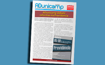 BOLETIM adu 03082015 home — ADunicamp debate reformas na Previdência — ADunicamp