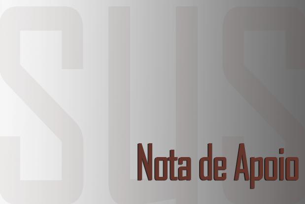 """apoio sus — ADunicamp apoia e se solidariza com """"Nota de Repúdio ao Leilão do Ministério da Saúde"""" — ADunicamp"""