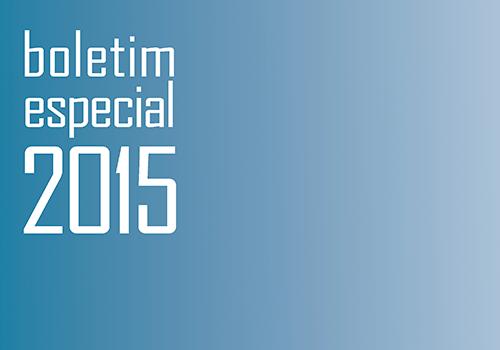 capa boletim especial final 1 — 2015: um ano de ações e avanços em diferentes setores — ADunicamp