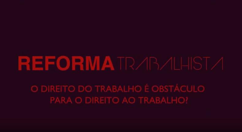 reforma trabalhista SA home 1 — Reforma Trabalhista é tema do primeiro programa S/A-Sala Aberta — ADunicamp