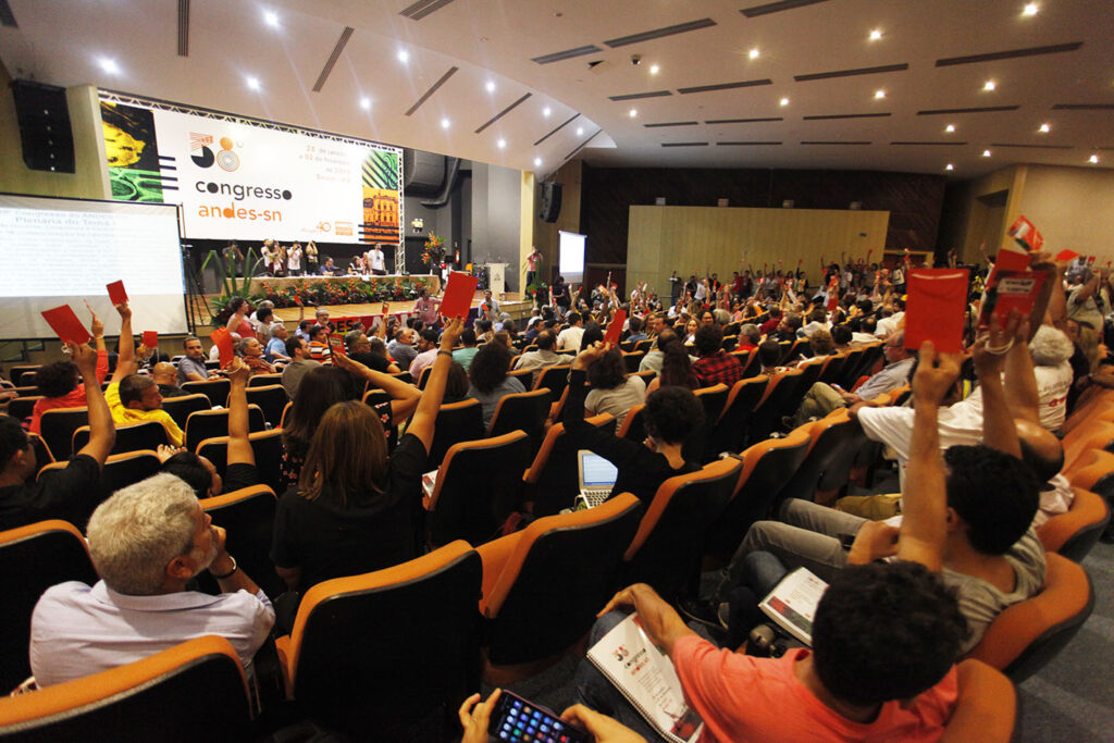 andes 38 congresso 02 — Congresso do ANDES-SN aprova centralidade da luta — ADunicamp