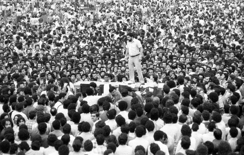 lula discruso no abc anos greves nos anos 80 — Divulgação | Por que seguir lutando pela liberdade de Lula? — ADunicamp