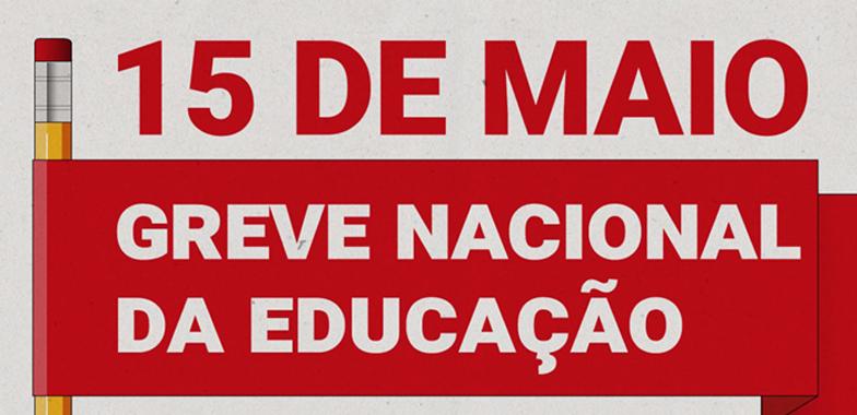 15 maio greve home — 15 de maio - Greve Nacional da Educação. Em defesa da Educação Pública e contra a Reforma da Previdência — ADunicamp