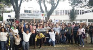 Ato na Unicamp: Solidariedade à comunidade unespiana contra a quebra da isonomia de reajuste