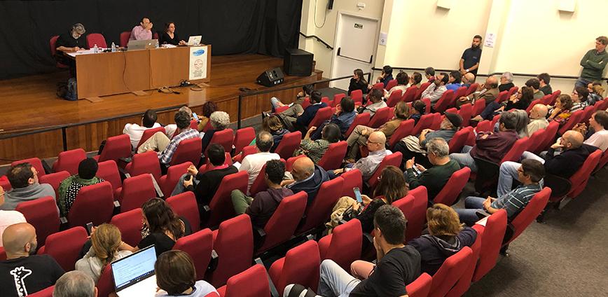 2019 06 04 assembleia docentes — Docentes da Unicamp decidem não entrar em greve e ampliar mobilizações dentro e fora da universidade — ADunicamp