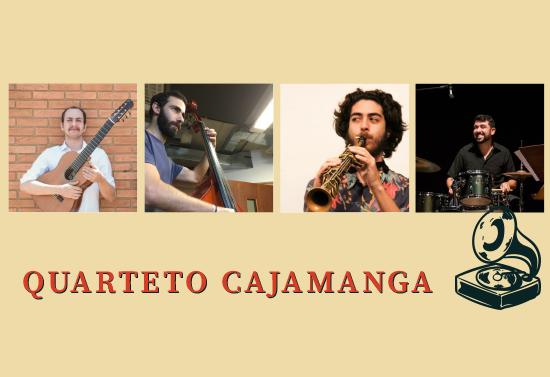 2019 06 12 Cha da Adu imag destacada — Chá d'ADu (12/6/2019) | Quarteto Cajamanga — ADunicamp