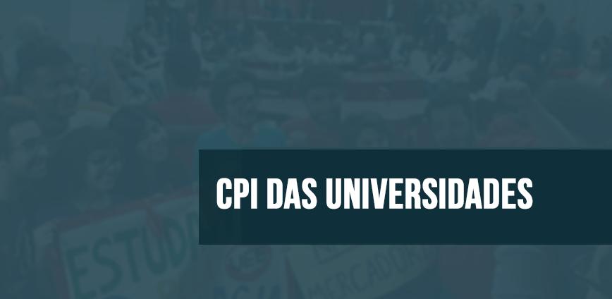 CPI UNIVERSIDADES 2 — Reunião da CPI das Universidades é convocada para quarta-feira, 19 — ADunicamp