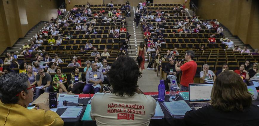 64 conad andes — Carta de Brasília - 64º CONAD do ANDES-SN, realizado ente os dias 11 a 14 de julho de 2019 — ADunicamp