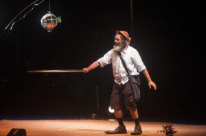 Teatro na ADunicamp   Paulo Freire, o andarilho da utopia (22/7)