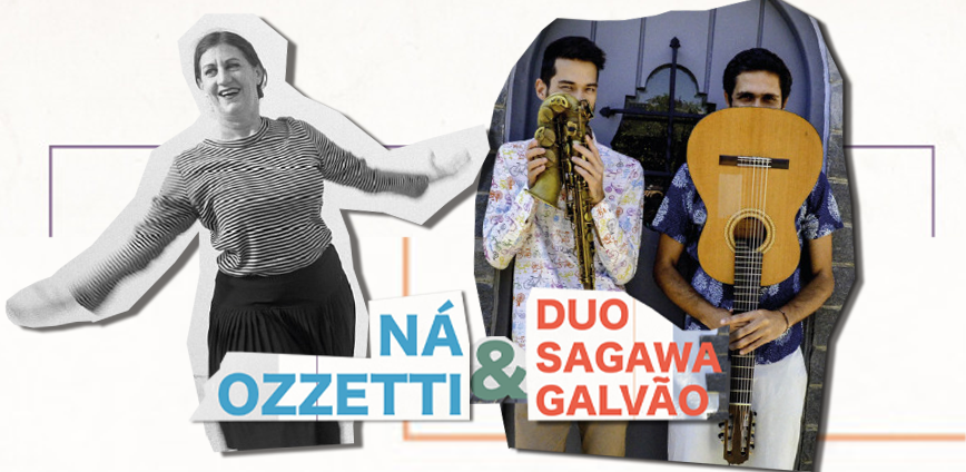 naozzeti — Ná Ozzetti e o Duo Sagawa Galvão interpretam Dominguinhos e Anastácia na ADunicamp — ADunicamp