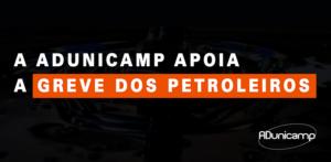 greve petroleiros — Moções — ADunicamp