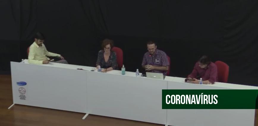 CORONA 02 — Debate na ADunicamp aponta que 'crise do coronavírus' vai afetar economia e sociedade brasileira por longo tempo — ADunicamp