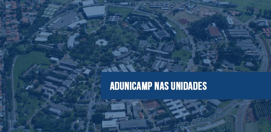 adunicamp nas unidades — 'ADunicamp nas Unidades' realiza quatro novos encontros e abre novos agendamentos — ADunicamp