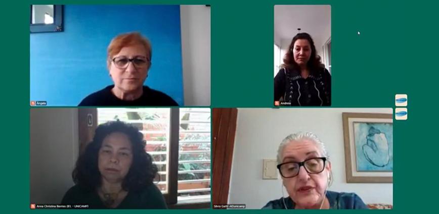 debate saude — Debate mostra condições psicossociais de docentes durante a pandemia — ADunicamp
