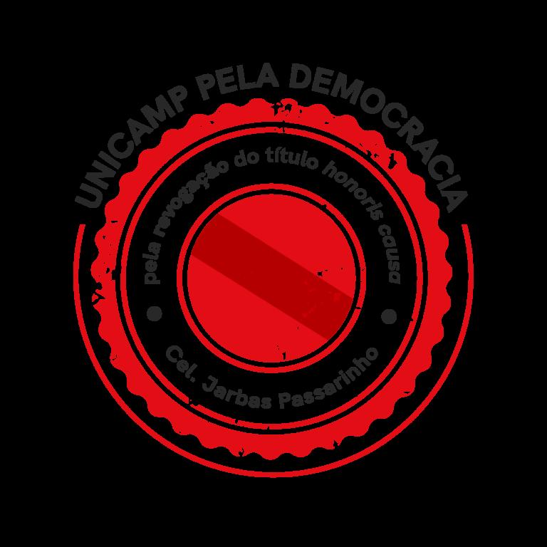 Logo do GT - pela revogação do título de Honoris causa de Jarbas Passarinho
