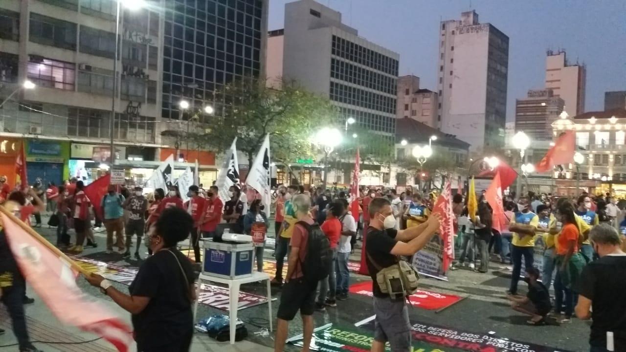 918 1 — Especial 18 de Agosto: milhares ocupam as ruas e ADunicamp também vai a atos contra Reforma Administrativa — ADunicamp